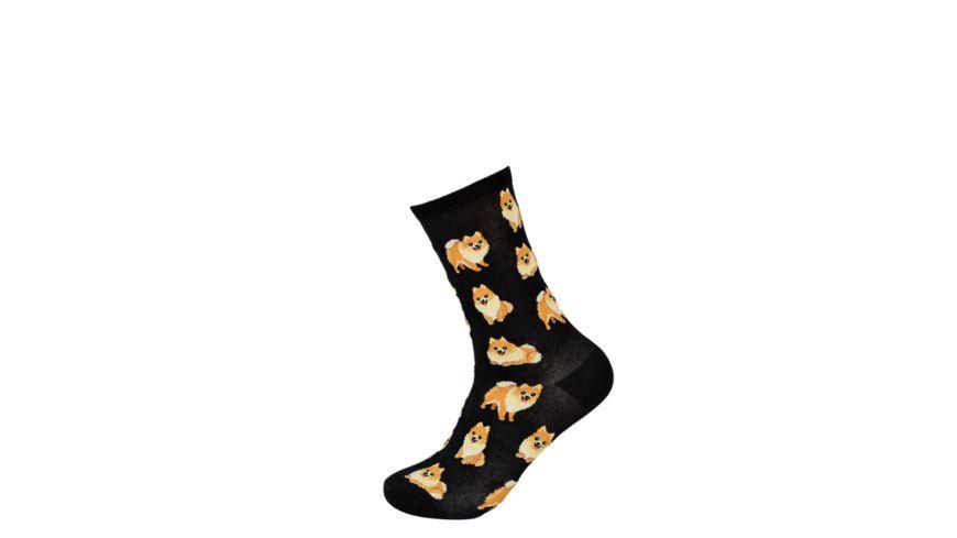 HOTSOX Damen Socken POMERANIANS
