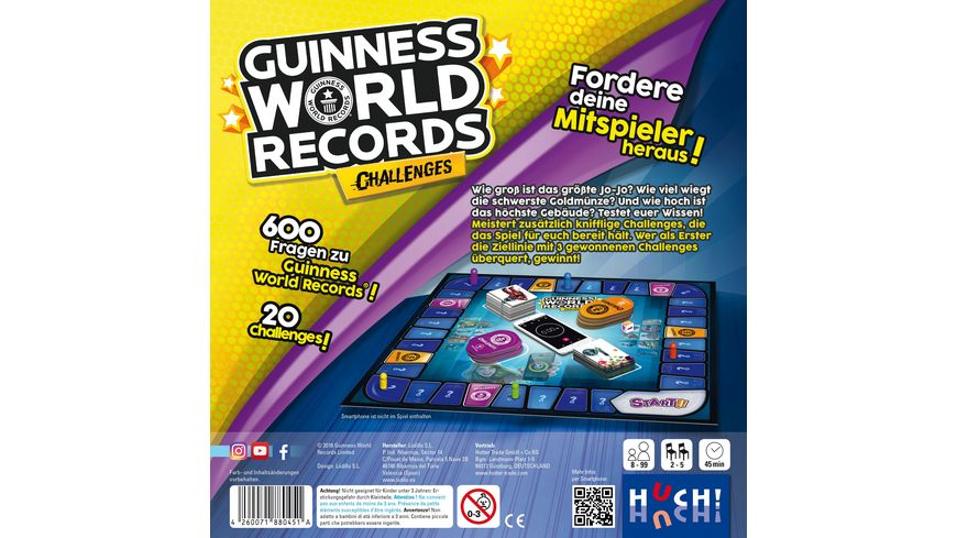 Huch Verlag Guinness World Records