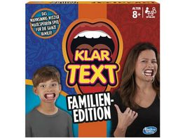 Hasbro Gaming Klartext Familien Edition