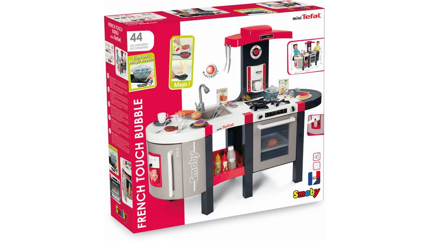Smoby Bubble Küche | Smoby Tefal French Touch Bubble Kuche Online Bestellen Muller