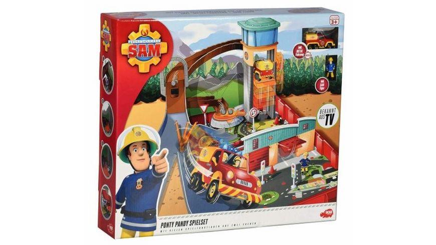 Dickie Feuerwehrmann Sam Ponty Pandy Spielset