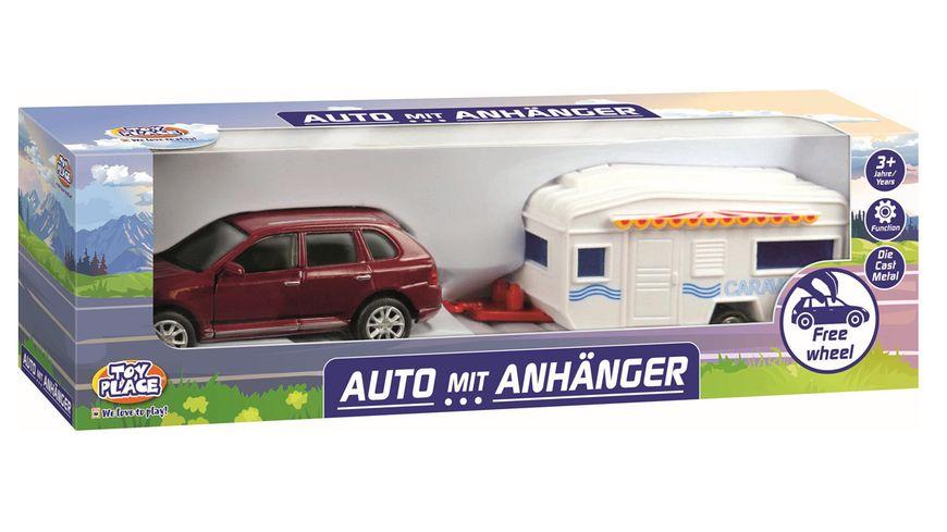Mueller Toy Place Auto mit Anhaenger 1 Stueck sortiert