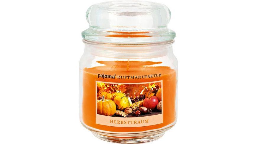 pajoma Duftkerze im Glas Herbsttraum