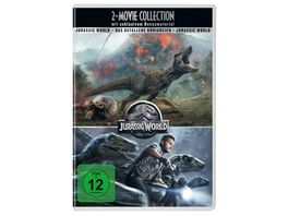 Jurassic World 2 Movie Collection 2 DVDs 2 Bonusdiscs