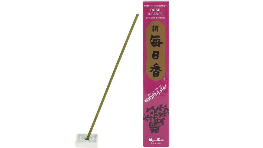 Nippon Kodo Raeucherstaebchen Morningstar Rose
