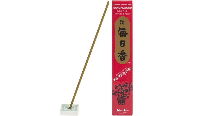 Nippon Kodo Raeucherstaebchen Morningstar Sandelholz