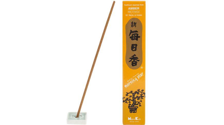 Nippon Kodo Raeucherstaebchen Morningstar Amber