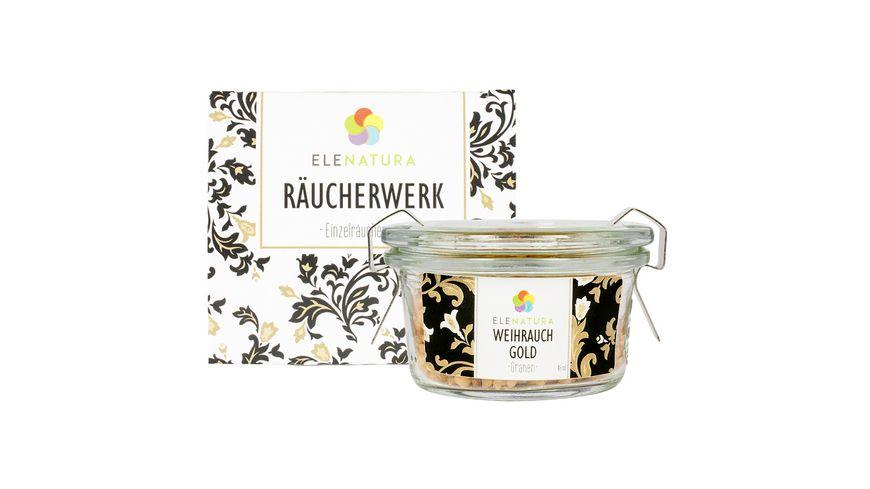 ELENATURA Raeucherwerk Weihrauch Gold