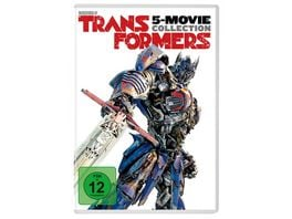 Transformers 1 5 Collection 5 DVDs