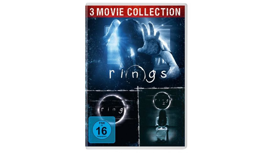The Ring Edition 3 DVDs