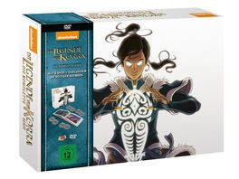 Die Legende von Korra Special Edition Komplettbox 8 DVDs