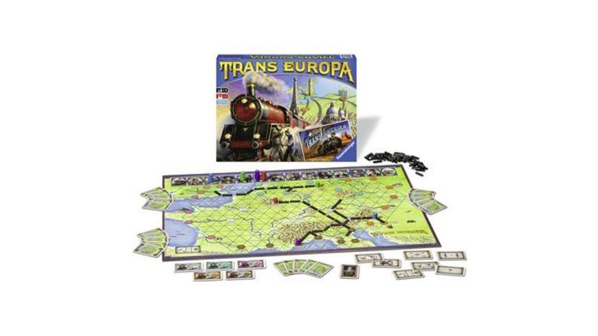 Ravensburger Spiele TransEuropa und TransAmerika