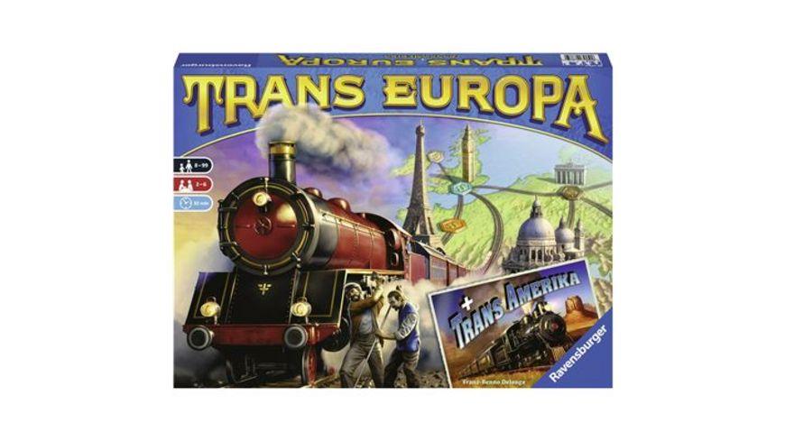 Ravensburger Spiel TransEuropa und TransAmerika