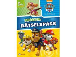 Nelson Verlag PAW Patrol Mission Raetselspass