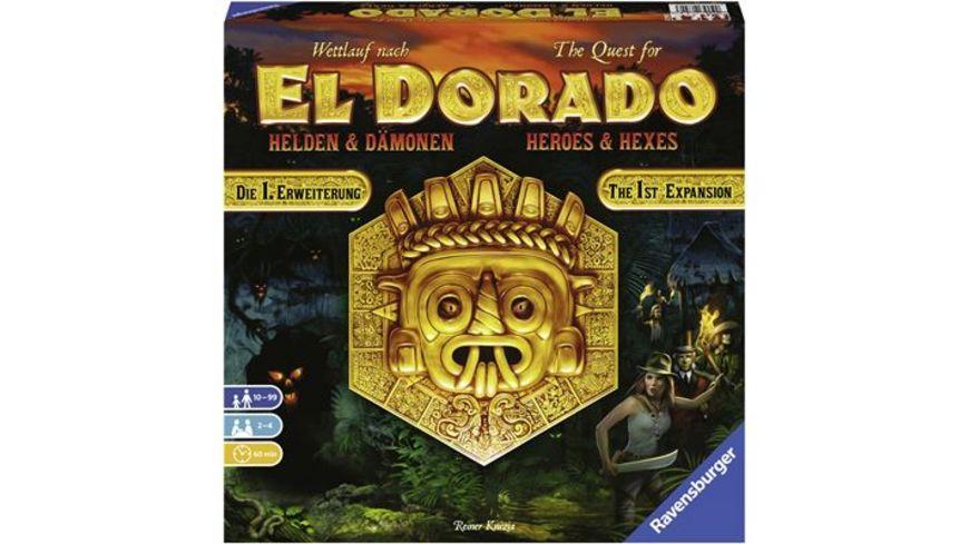 Ravensburger Spiel Wettlauf nach El Dorado Helden und Daemonen Erweiterung