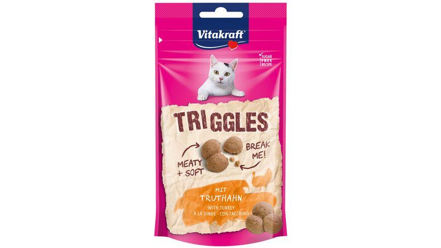 Vitakraft Katzensnack Triggles mit Truthahn