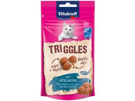 Vitakraft Katzensnack Triggles mit Seelachs