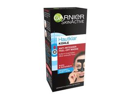 GARNIER SkinActive Hautklar Kohle Peel Off Anti Mitesser Maske