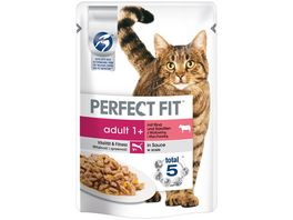 PERFECT FIT KATZE Portionsbeutel Adult Rind
