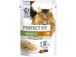 PERFECT FIT KATZE Portionsbeutel Senior Pute