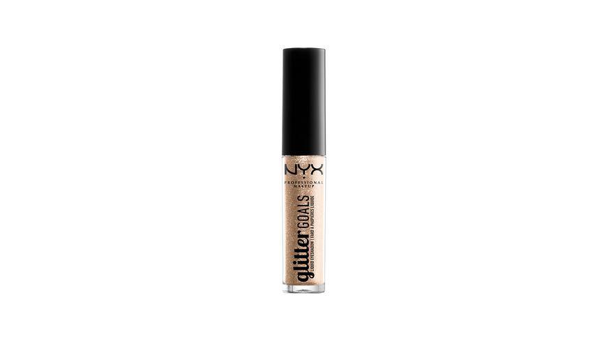 NYX PROFESSIONAL MAKEUP Lidschatten Glitter Goals Liquid Eyeshadow