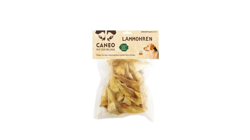 CANEO Hundetrockenfutter Lammohren