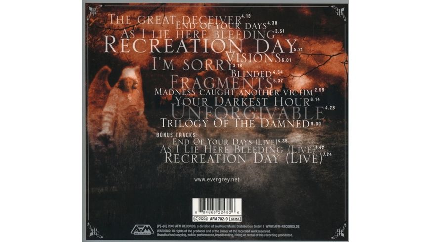 Recreation Day Remasters Edition Digipak