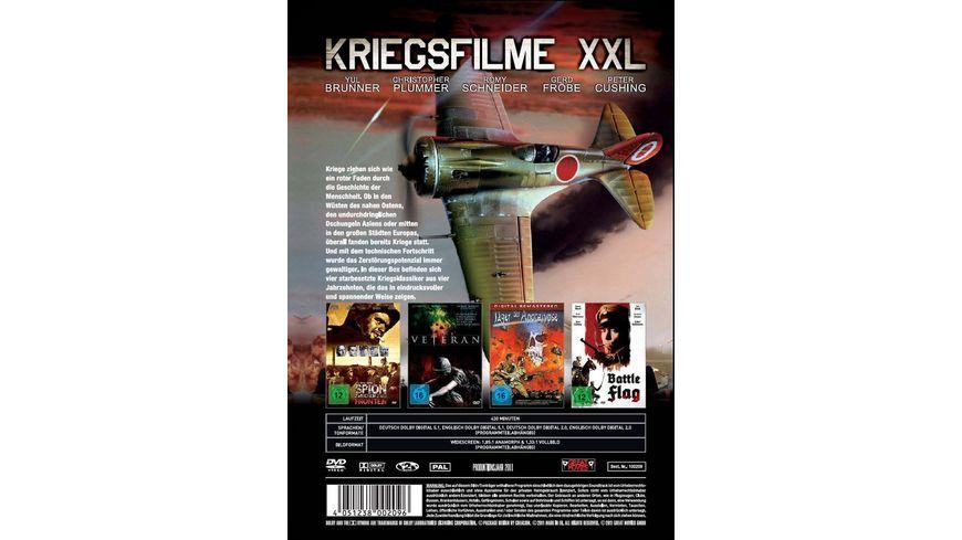 Kriegsfilme XXL 2 DVDs