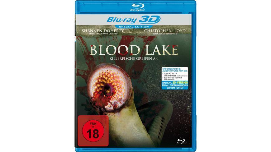 Blood Lake Killerfische greifen an SE inkl 2D Version