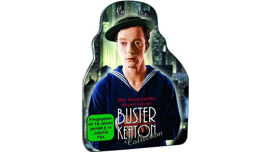 Buster Keaton Collection Metal Pack CE
