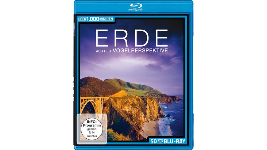 Die Erde aus der Vogelperspektive SD on Blu ray