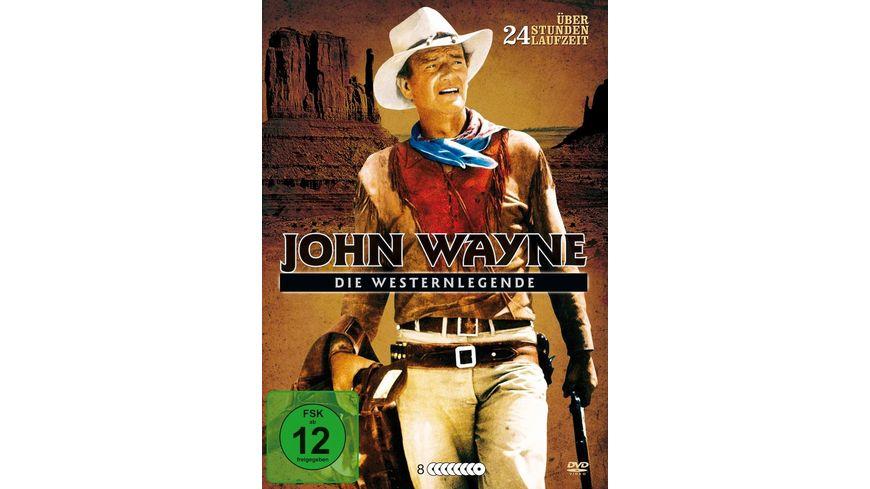 John Wayne Die Westernlegende Metallbox 8 DVDs