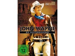 John Wayne Die Westernlegende Metallbox 8 DVDs