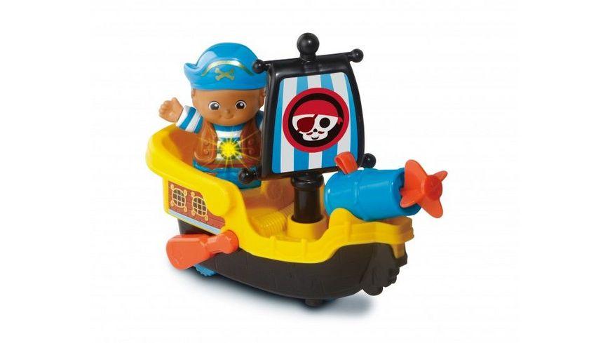 VTech Kleine Entdeckerbande Pirat Nico mit Boot