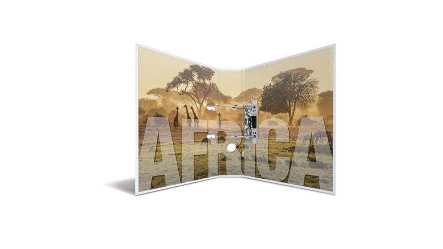 HERMA Motiv Ordner A4 Globetrotter Africa breit