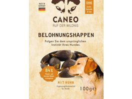 CANEO Hunde Belohnungshappen mit Huhn