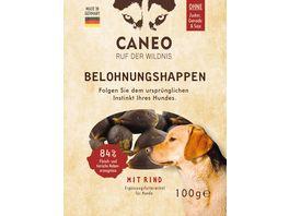 CANEO Hunde Belohnungshappen mit Rind