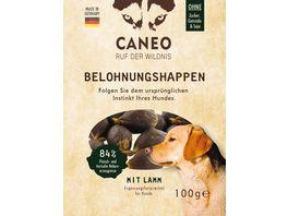 CANEO Hunde Belohnungshappen mit Lamm