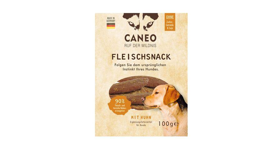 CANEO Fleischsnacks fuer Hunde mit Huhn