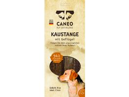 CANEO Native Kaustange M Gefluegel 3 Stueck je 24 cm