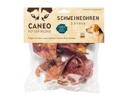CANEO Schweineohren 3 Stueck