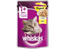 Whiskas Portionsbeutel 1 Ragout mit Huhn in Gelee