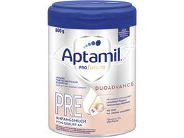 Aptamil Profutura PRE Anfangsmilch von Geburt an 800g