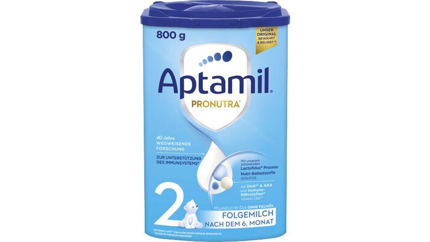 Aptamil Pronutra ADVANCE 2 Folgemilch nach dem 6 Monat 800g