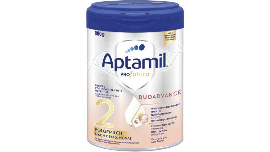 Aptamil Profutura 2 Folgemilch nach dem 6. Monat, 800g