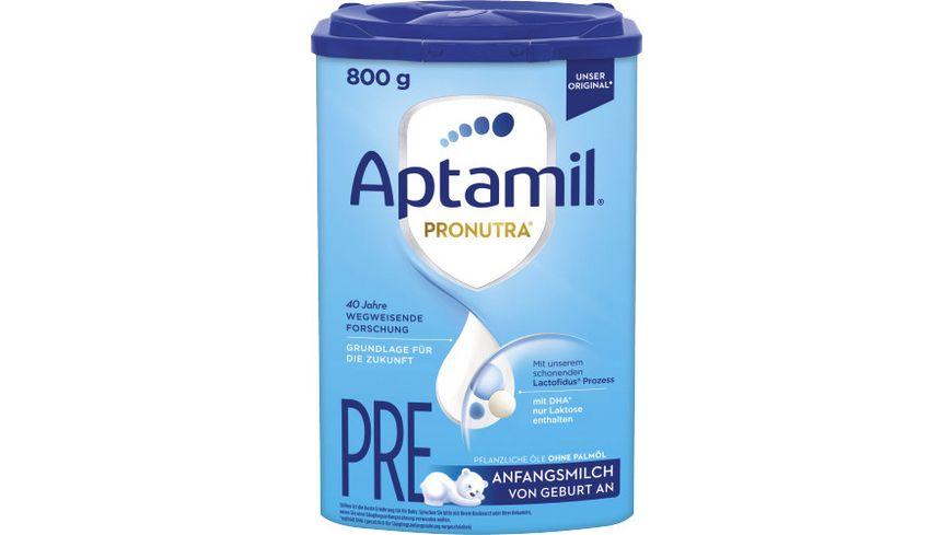 Aptamil Pronutra ADVANCE PRE Anfangsmilch von Geburt an 800g