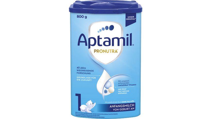 Aptamil Pronutra ADVANCE 1 Anfangsmilch von Geburt an 800g