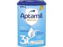 Aptamil Pronutra 3 Folgemilch ab dem 10 Monat