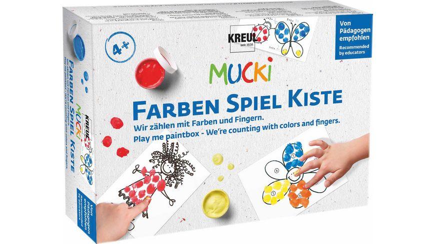KREUL MUCKI FarbenSpielKiste Wir zählen mit Farben und Fingern
