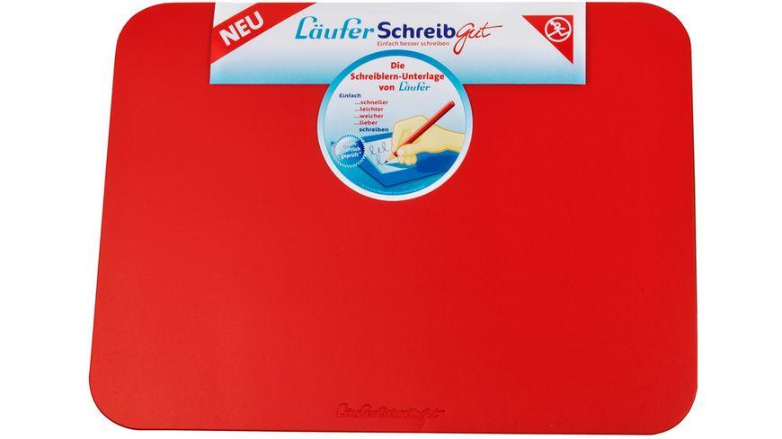 Laeufer Schreibtischunterlage SchreibGut 46x34cm blau